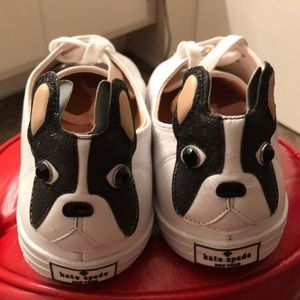 Kate Spade French Bull dog shoes New size 10